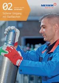 Deckblatt Broschüre Sicherer Umgang mit Gasflaschen